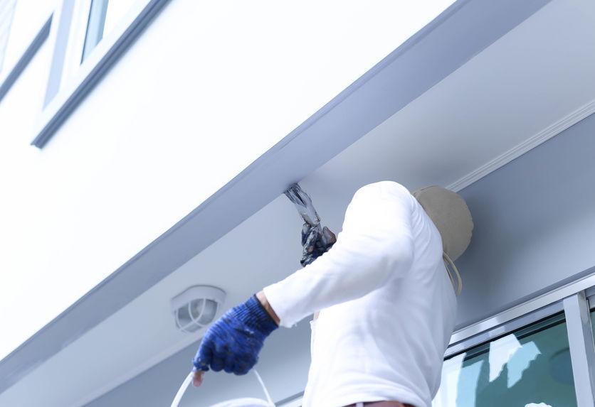 マンションの塗装工事